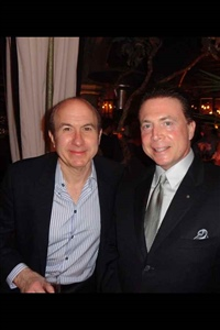 Frank Mottek with Philippe Dauman President and CEO of Viacom 2014